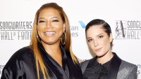 Queen Latifah and Halsey Backstage at Songwriters Hall Of Fame 50th Annual Induction And Awards Dinner