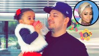 Rob Kardashian Shares Rare Throwback Pic with Dream Amid Blac Chyna Drama