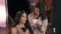 Kourtney and Kim Kardashian on the Phone