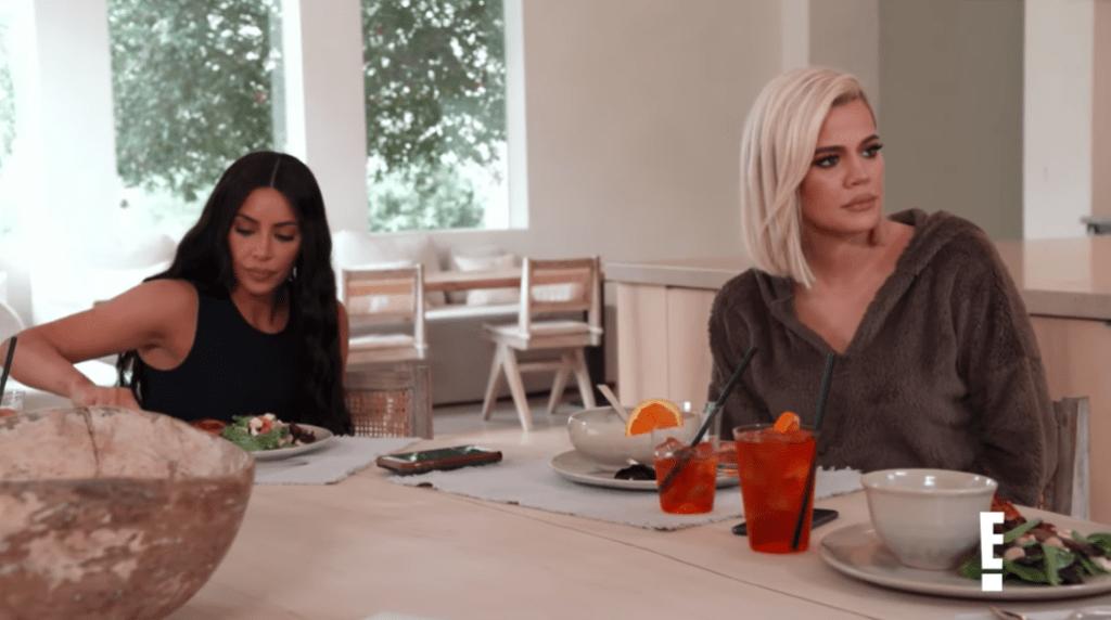 Khloe Kardashian With Kim Kardashian