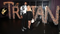 Khloe Kardashian and Tristan Thomson At Their Baby Shower