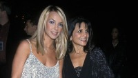 britney spears wears white sparkly top with mom lynne spears wearing black outfit britney spears mom lynne instagram comments