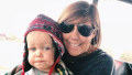 caryn chandler and jackson roloff in winter