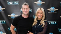 christina anstead and her husband ant both wear all black at a red carpet event christina anstead husband ant celebrate wedding anniversary