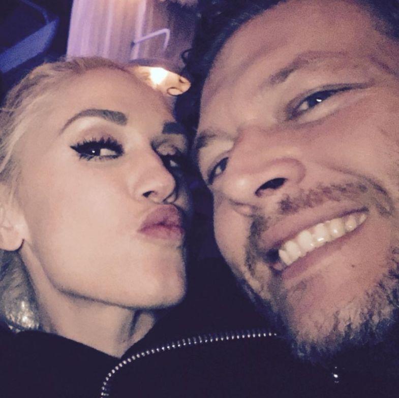 Gwen Stefani With Blake Shelton