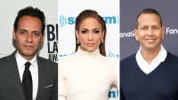 Three-Way Split Photo of Marc Anthony, Jennifer Lopez and Alex Rodriguez