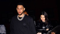 kendall jenner wears black jacket ben simmons wears black sweater with silver chain necklaces ben simmons likes kendall jenner instagram photo after split