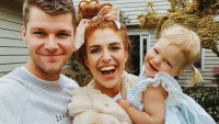 Audrey Roloff's Family Ember Rides Slide Alone