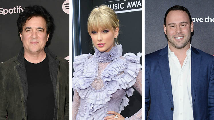 taylor swift scooter braun scott borchetta