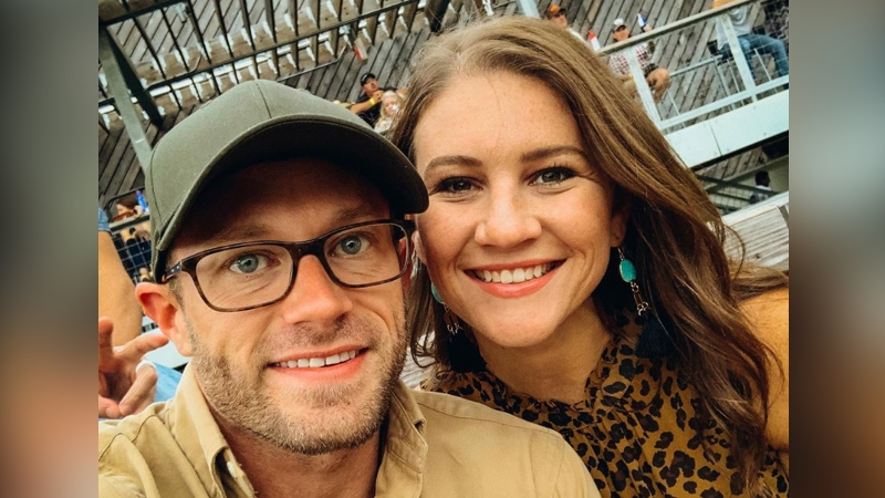 'OutDaughtered' Star Adam Busby Gushes That He's 'So Blessed' to Share Life With Wife Danielle