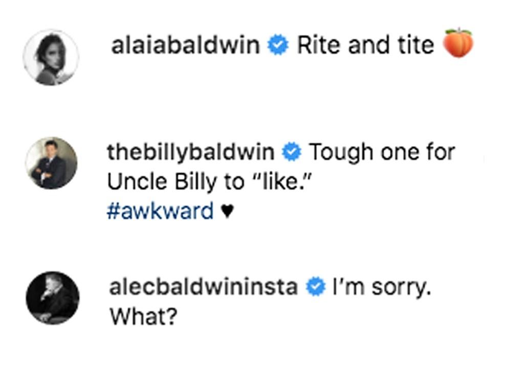 Alec Baldwin Billy Baldwin Comment Ireland Thong Pic