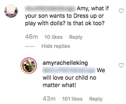 Amy Duggar Will Support Son