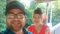 Dillon King Takes Selfie with Amy Duggar