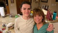 Amy Roloff and Jacob Roloff Smile and Pose Next to Cupcakes