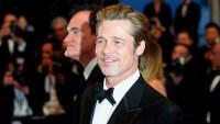 Brad Pitt Wearing a Tuxedo