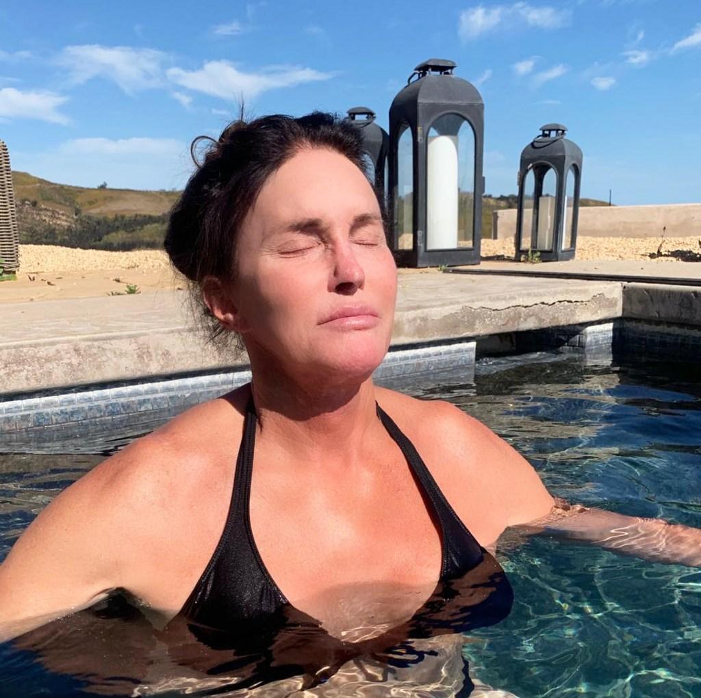Caitlyn Jenner Shares Bikini Photo in Malibu Heat