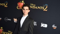 Cameron Boyce Wears Black Tux at Descendants 2 Premiere