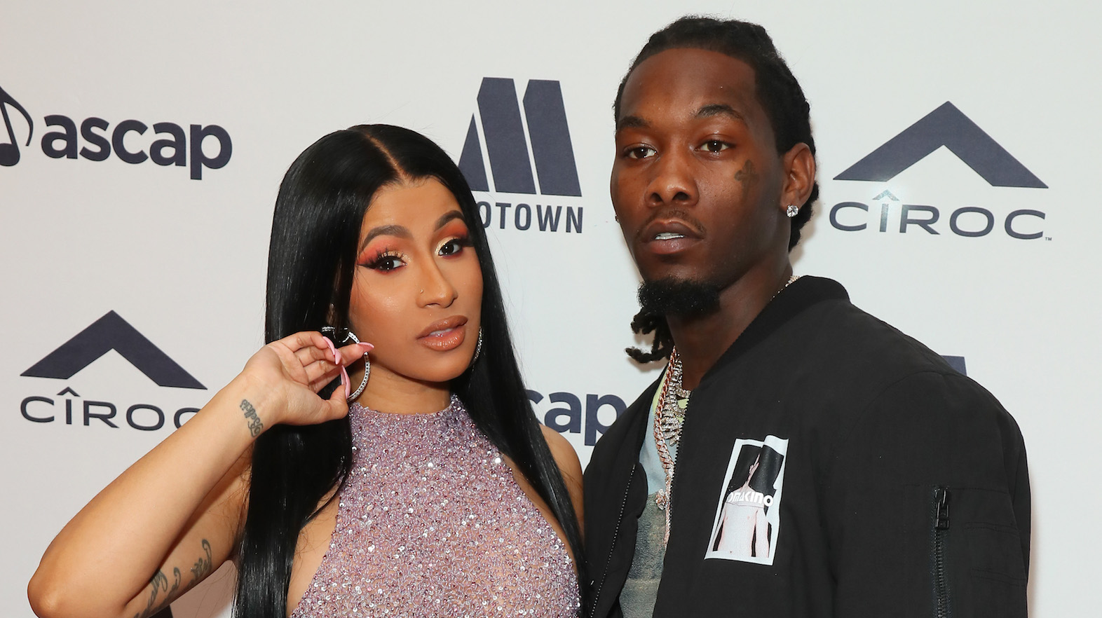 Cardi B Gets Husband Offset S Name Tattooed On The Back Of Her Thigh