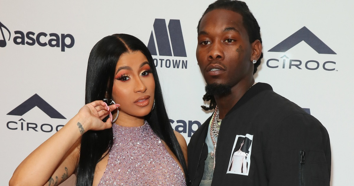 Offset Gets Cardi B Tattoo Is Inked Name An Effort To: Cardi B Gets Husband Offset's Name Tattooed On The Back Of