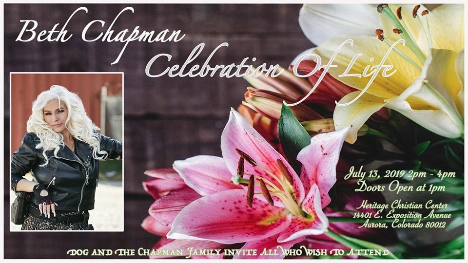 beth chapman Denver Memorial flyer