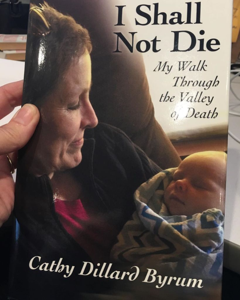 Derick Dillard Cathy Book Surviving Cancer Israel Cover