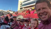 Jim Bob Takes Selfie with Duggar Kids