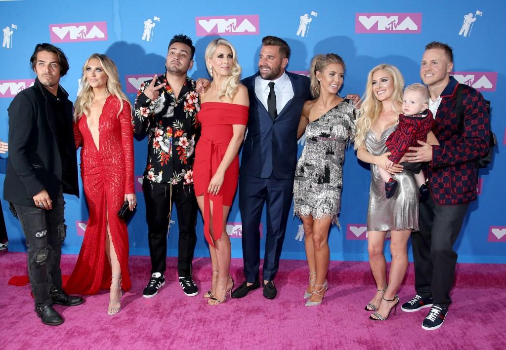 The Hills Cast at the MTV Vmas