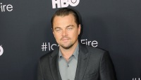 Leonardo DiCaprio Wearing a Suit