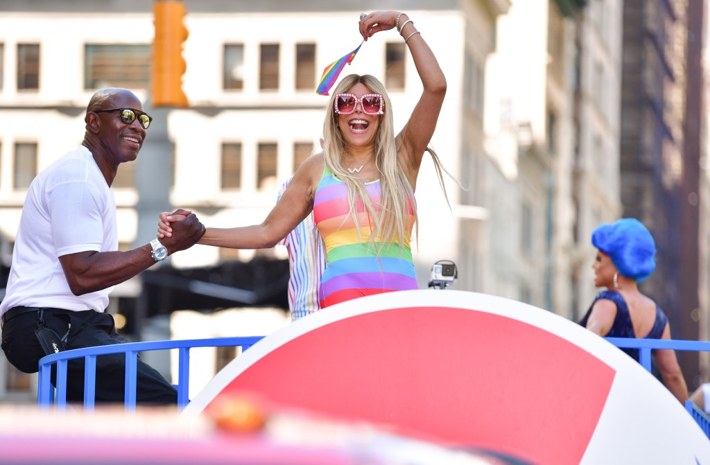 Wendy Williams at the Pride Parade