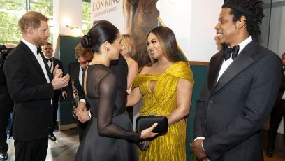 Meghan Markle and Prince Harry Meet Beyonce and Jay-Z
