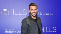 Jason Wahler Wearing a Jean Jacket at The Hills premiere