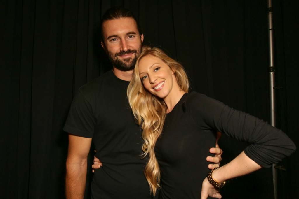 Brandon Jenner Wearing All Black With Ex-Wife Leah Jenner in All Black