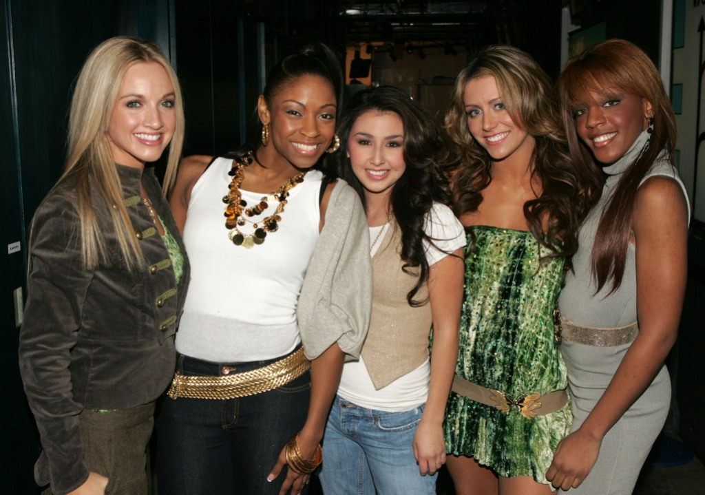 Danity Kane at an Event All Posing Together