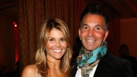Lori Loughlin With Her Husband Mossimo Giannulli in a Scarf