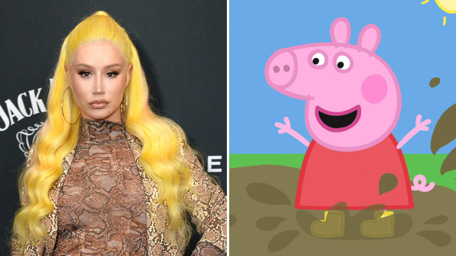 Iggy Azalea Is Feuding With Cartoon Character Peppa Pig