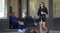 Irina Shayk strolling in NYC with daughter Lea