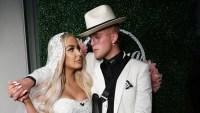 Tana Mongeau and Jake Paul Gaze Into Each Other's Eyes on Wedding Day