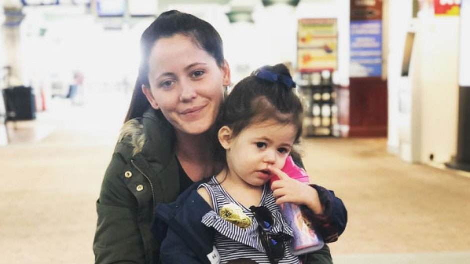 Jenelle Evans and Ensley