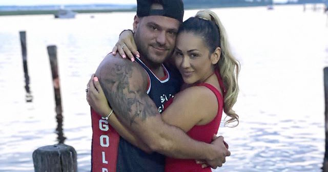Jersey Shore Star Ronnie Ortiz Magro Hugs Jen Harley on the Fourth of July