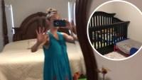 Jill Duggar Waves In Mirror While Filming House Tour