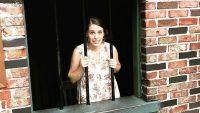 Jill Duggar Jokingly Poses in Fake Jail in Silver Dollar City