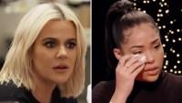 Khloe Kardashian Jordyn Woods Red Table Talk Show