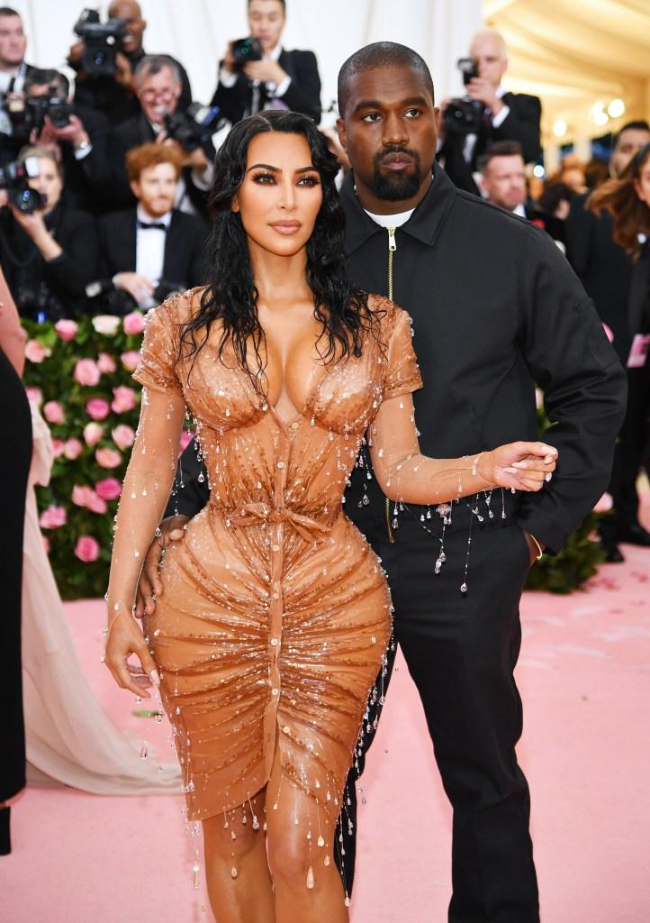 Kim Kardashian Kanye West Mat Gala 2019
