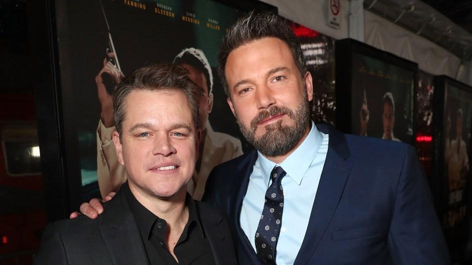 Matt Damon Ben Affleck Reunite Screen