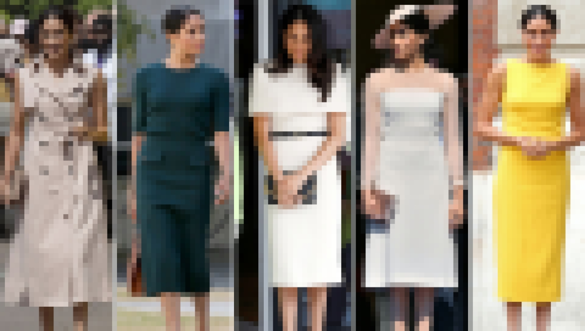 Meghan Markle Best Style Moments