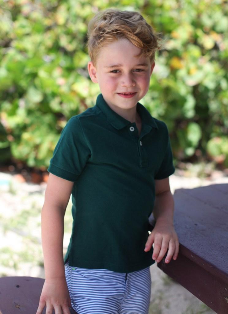 Meghan Markle Prince Harry Birthday Wish Prince George