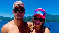 Miranda Lambert Wearing a Hat and Sunglasses on a Boat With Husband Brendan McLoughlin