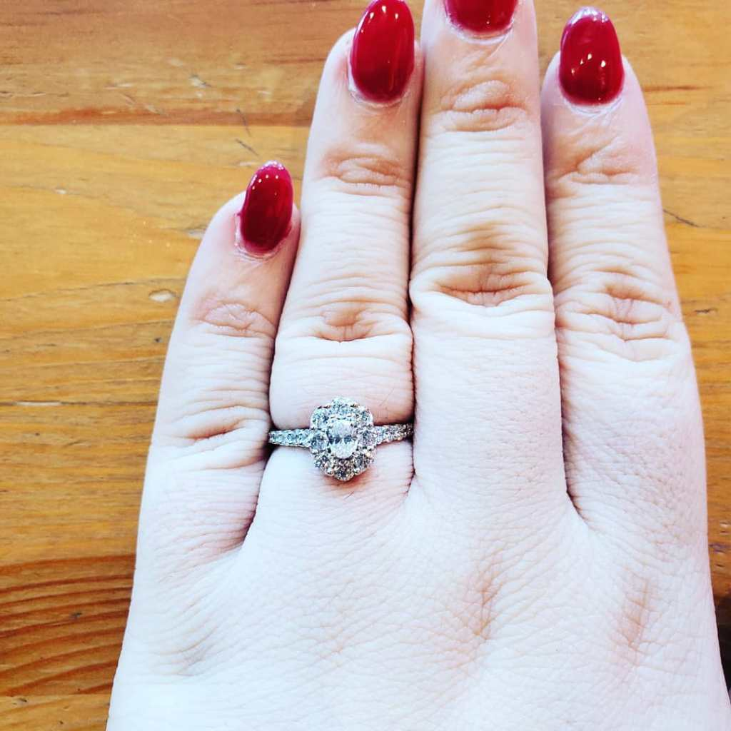 My 600 lb Life Chay Engagement Diamond Ring
