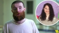 In-Let Photo of Gypsy Rose Blanchard Over Video Still of Nick Godejohn Speaking From Prison
