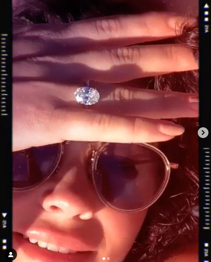 Sarah Hyland Troll Engaged